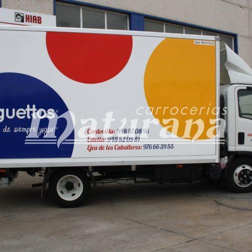 Juguettos furgones